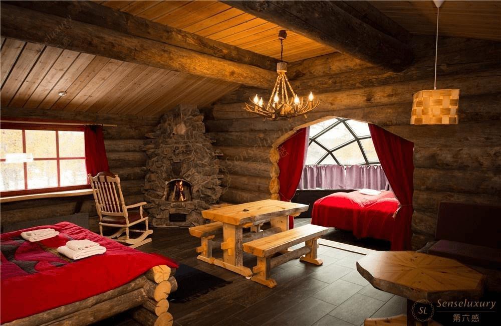 芬兰玻璃屋_住童话般的芬兰雪屋,看得天独厚的美景-第六感度假
