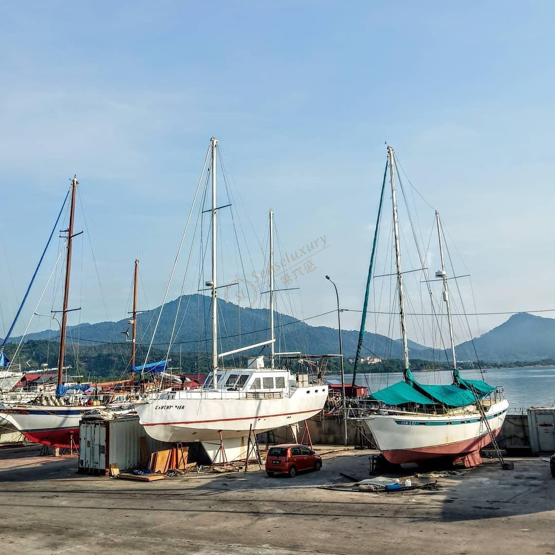 兰卡威帆船